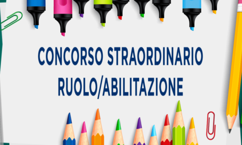 PRIMI RISULTATI DEL CONCORSO STRAORDINARIO RUOLO/ABILITAZIONE